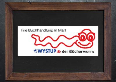 Wystup & der Bücherwurm
