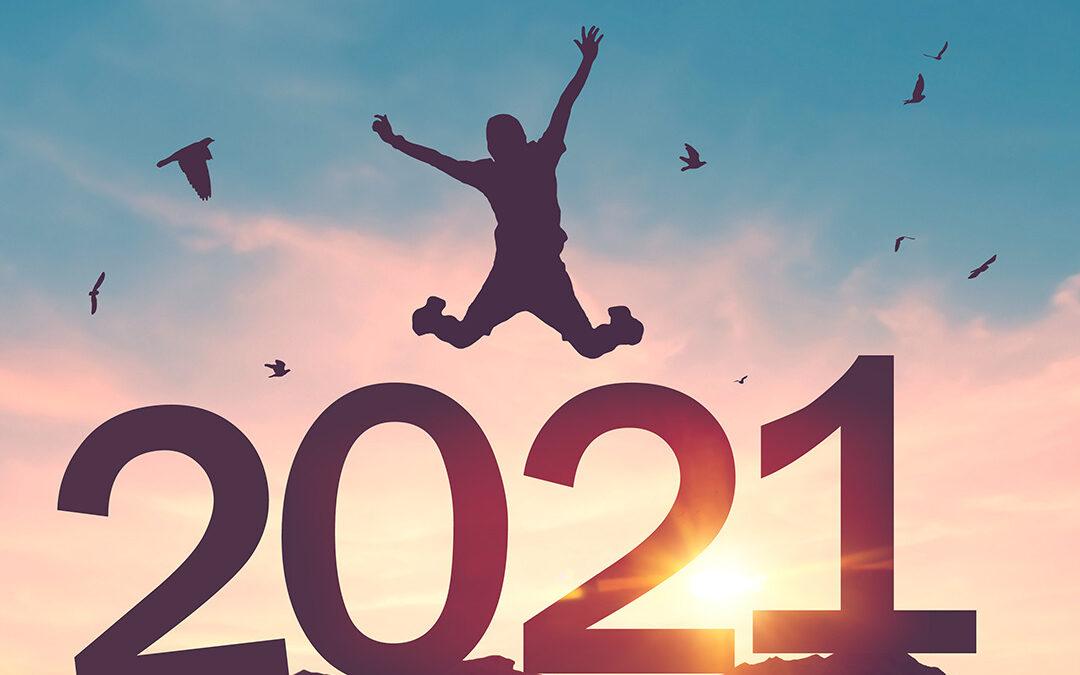 EIN FROHES UND GUTES JAHR 2021