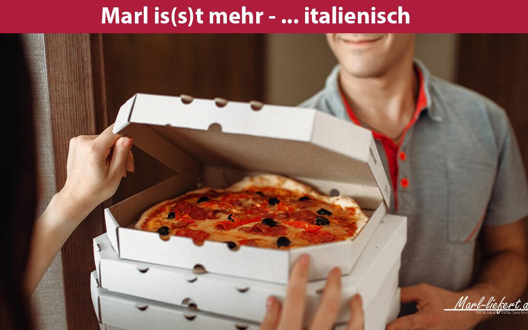 Pizzataxi für dich – einfach Pizza bestellen in Marl